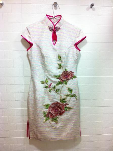 手工折纸旗袍步骤图