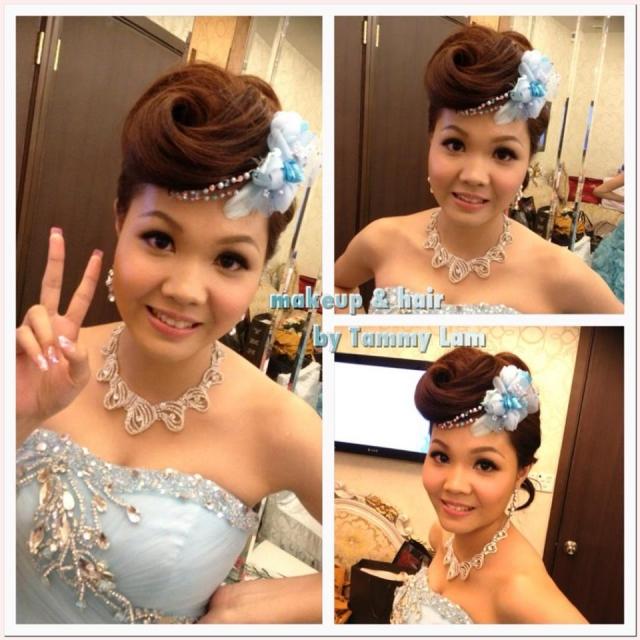 平留海新娘发型分享展示