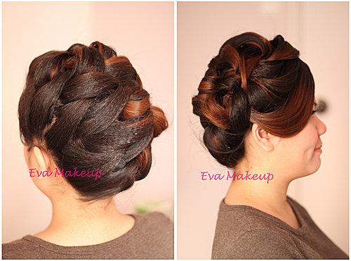 2014年短头发造型; 2014年结婚发型; 韩式新娘敬酒发型韩式新娘敬酒服图片
