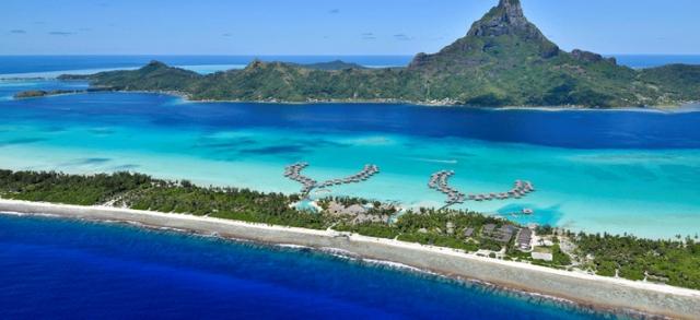 酒店位置: 洲际酒店波拉波拉度假村及水疗中心位於 博拉博拉岛,座落在