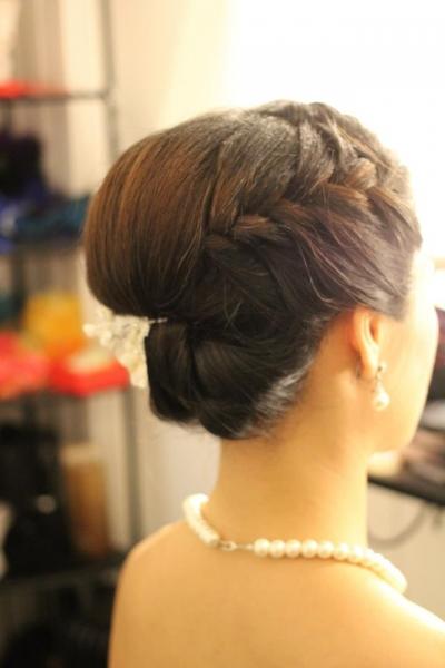 新娘试妆参考 - 出门褂头 晚宴发型 - sylvia图片