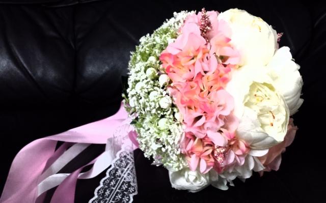 婚车花球的折法步骤图