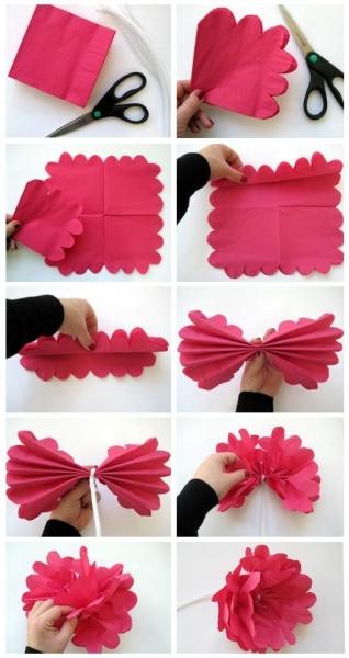 decoration纸花diy立体纸花tailor-make纸品花