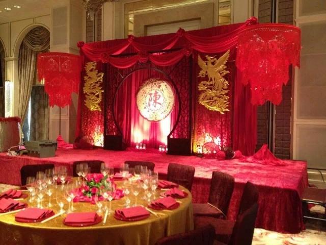 式婚礼晚宴布置