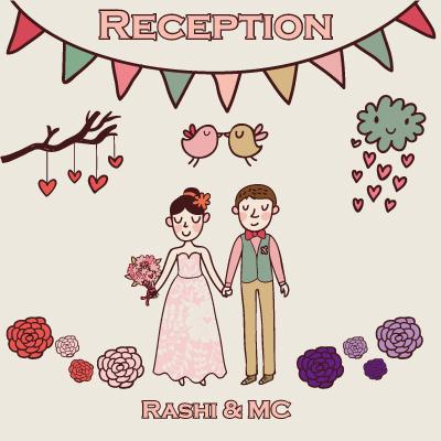 婚禮完成后報告--愛的宣言/指示牌設計