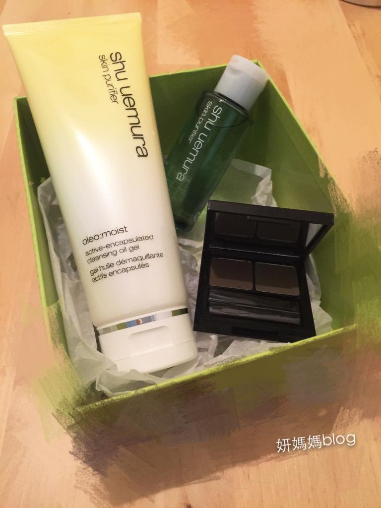 ♥分享 結合卸妝油, 啫喱好處:shu uemura水漾卸妝啫喱 + 不脫妝雙色塑型眉粉 ♥ ...  ...