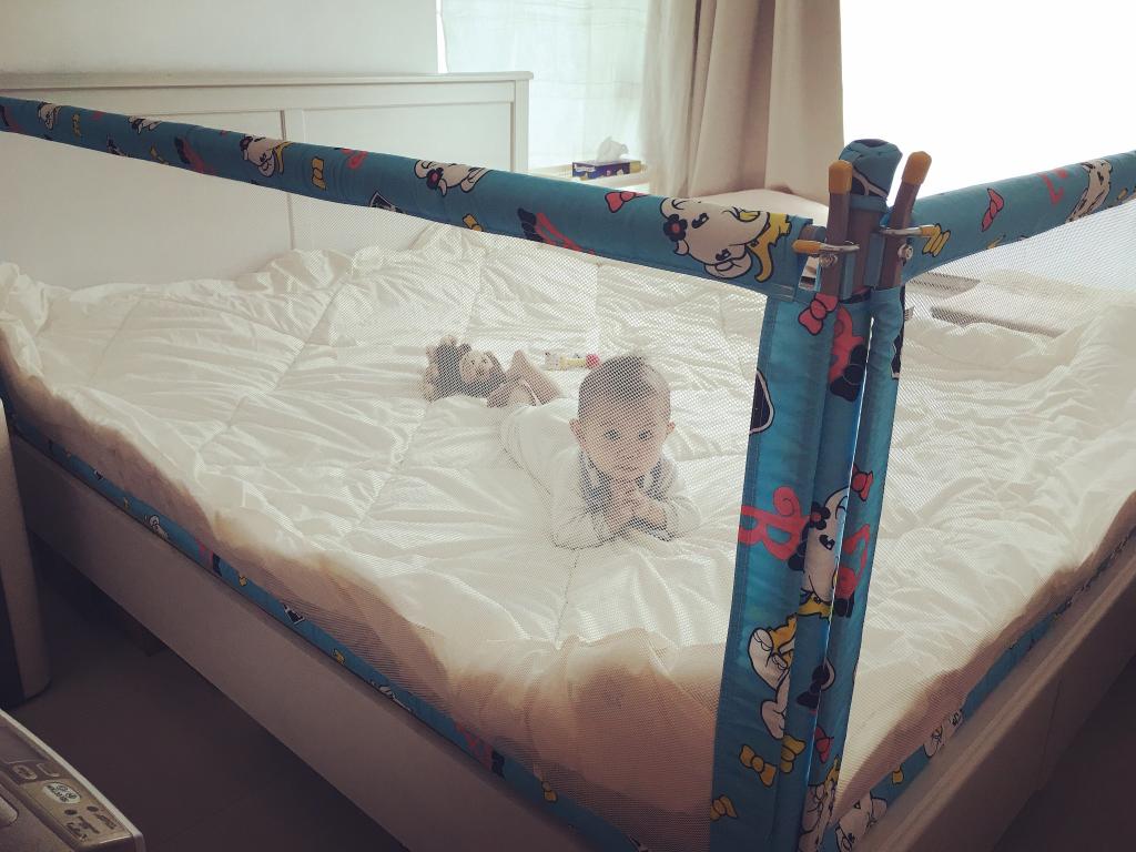 【堅・媽媽】與寶寶同睡恩物 - 淘寶床欄