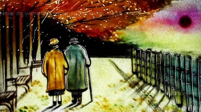 幸子淘寶沙畫影片紀錄低自己的愛情故事- - 給自己的婚禮~~!