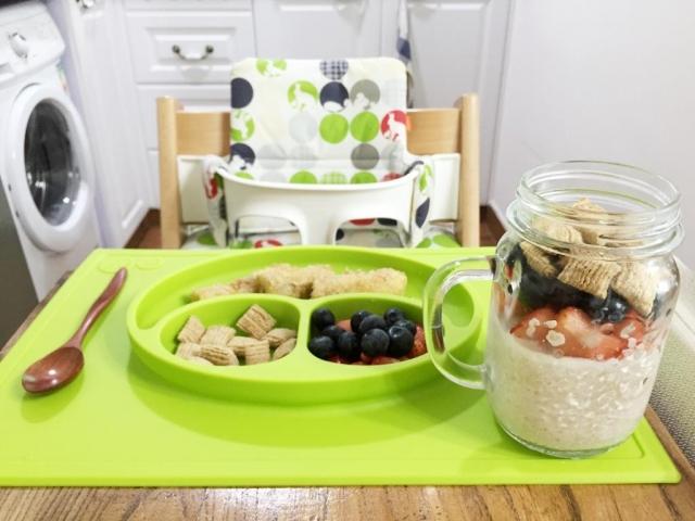 【桂格燕麥有營兒童餐】 簡易、零失敗! 牛奶麥皮水果杯+燕麥香蕉棒