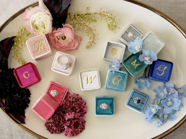 #somephrey嚴選!嫁左都要買番的Fine art系Velvet ring boxes