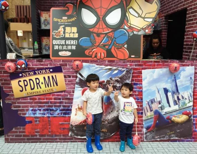 【必影!】蜘蛛俠5大影相打卡位 X 期間限定店@朗豪坊