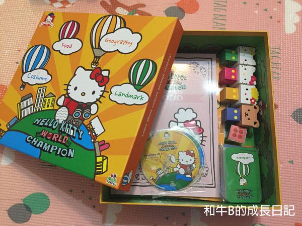 【遊戲x英語教材】Hello Kitty棋盤遊戲助你輕鬆學英語