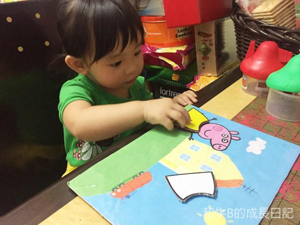 【育兒教材】幼兒辨別顏色好幫手 x 自製Peppa換衫公仔