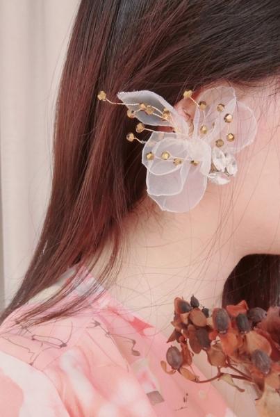無耳洞新娘都可以搶鏡!超有美感婚嫁耳環