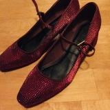 ASOS大碼紅色褂鞋 - kehwen