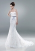 wedding dress try 一try