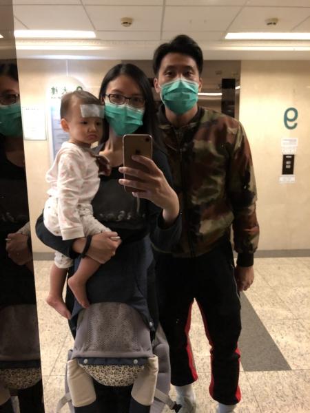 寶寶第一次生病記 之 確診甲型流感