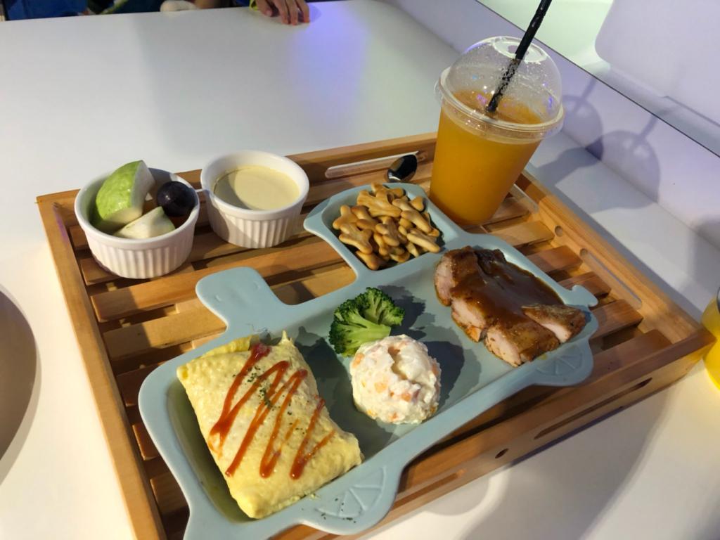 台北親子遊 - 小火車兒童餐
