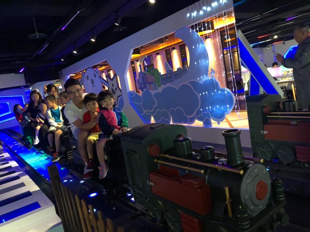 台北親子遊 - 免費坐小火車