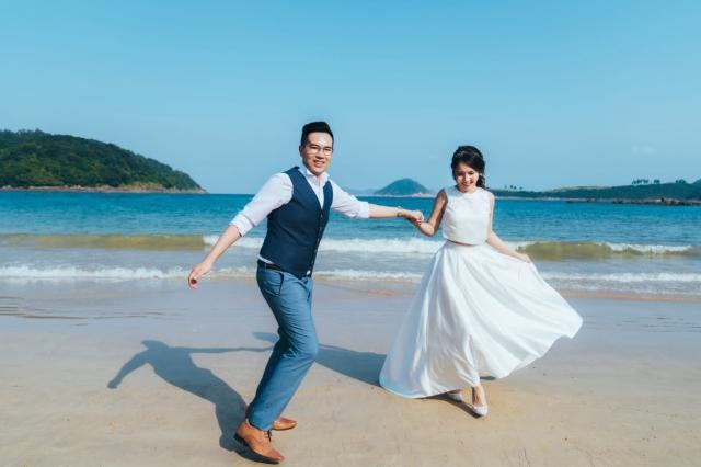 •F&Y•  #42 沙灘婚照-輕婚紗之選