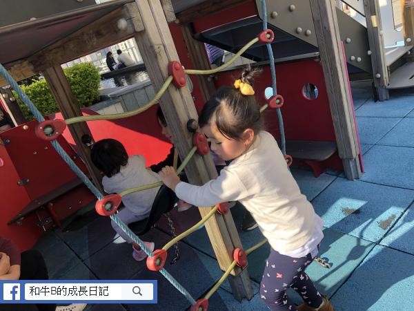 親子餐廳 - 攀爬繩網