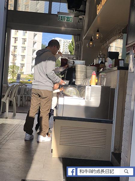 親子餐廳 - 自助沙律吧