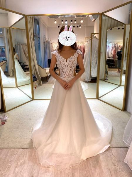 Mrs W-TO-BE 愛上試婚紗-分享葵興婚紗店試衫經驗