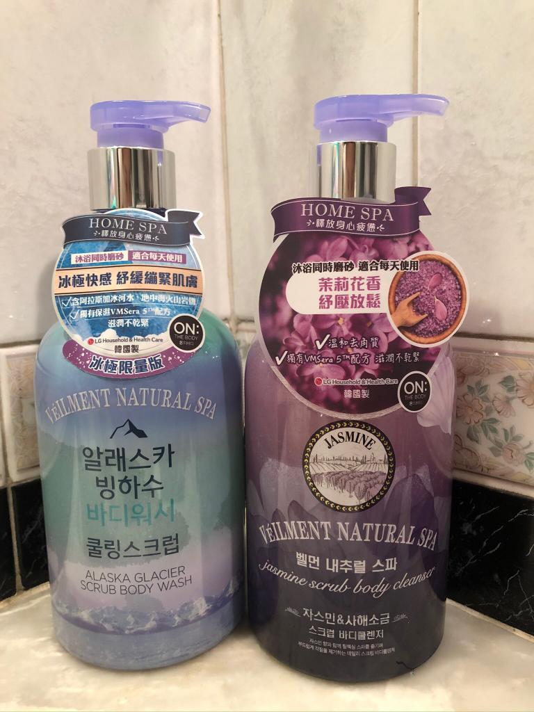 【小編試用】兩大韓牌沐浴露  冰極涼爽去角質 vs. 孕婦敏感肌都適用