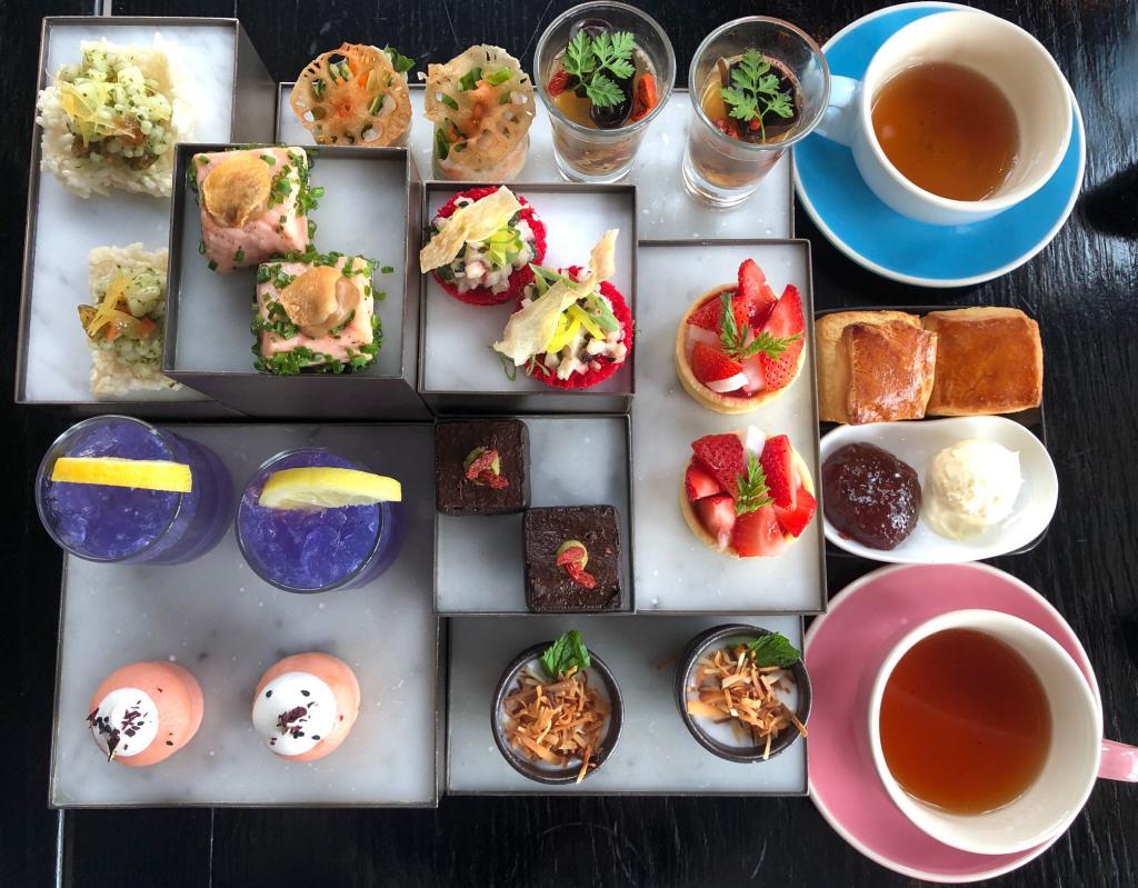 【閨蜜gathering👯】酒店下午茶養生食材入饌❤️️ 輕盈茶點罪疚感zero