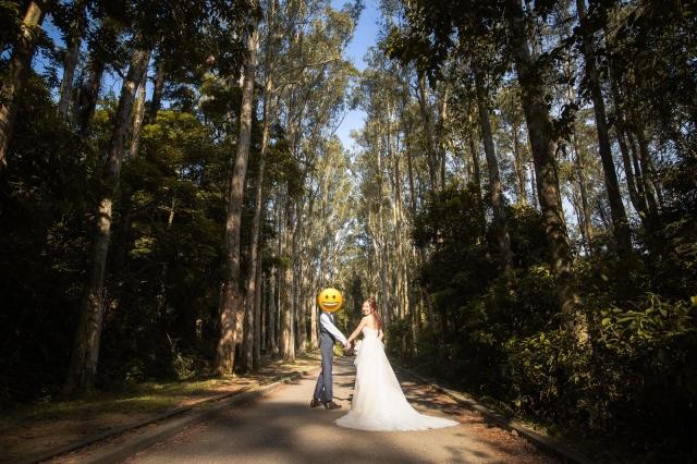 猶如外國景色+溫柔細心攝影師的*香港pre-wedding photo*
