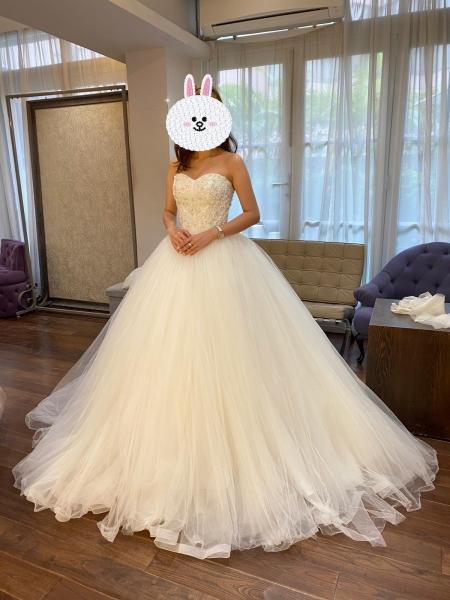 Mrs W-TO-BE 愛上試婚紗-分享一裙多著試婚紗經驗