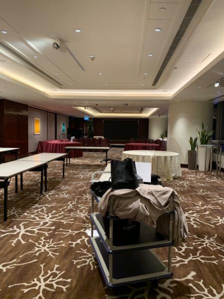 Beginning - 中式午宴 睇場篇(1) Cordis Hong Kong