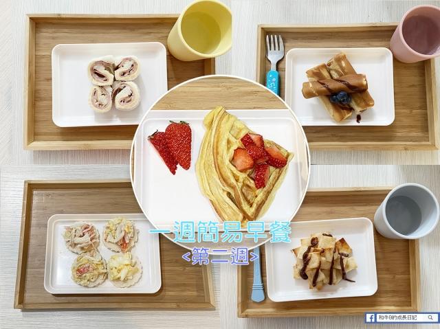 【食譜分享】解決5日小朋友早餐 | 第二週