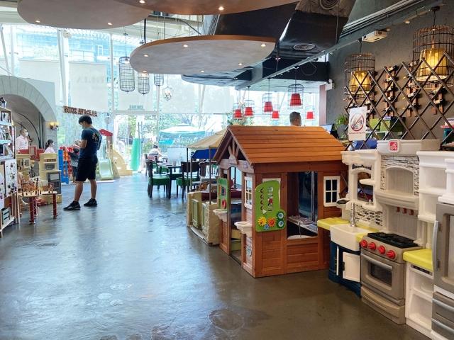 【親子餐廳】室內、戶外兒童遊樂設施、玩水 x 意大利菜