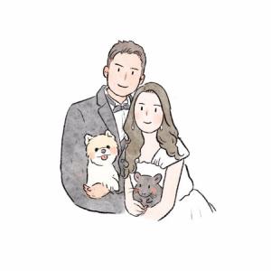 💛婚禮頭像Logo💕